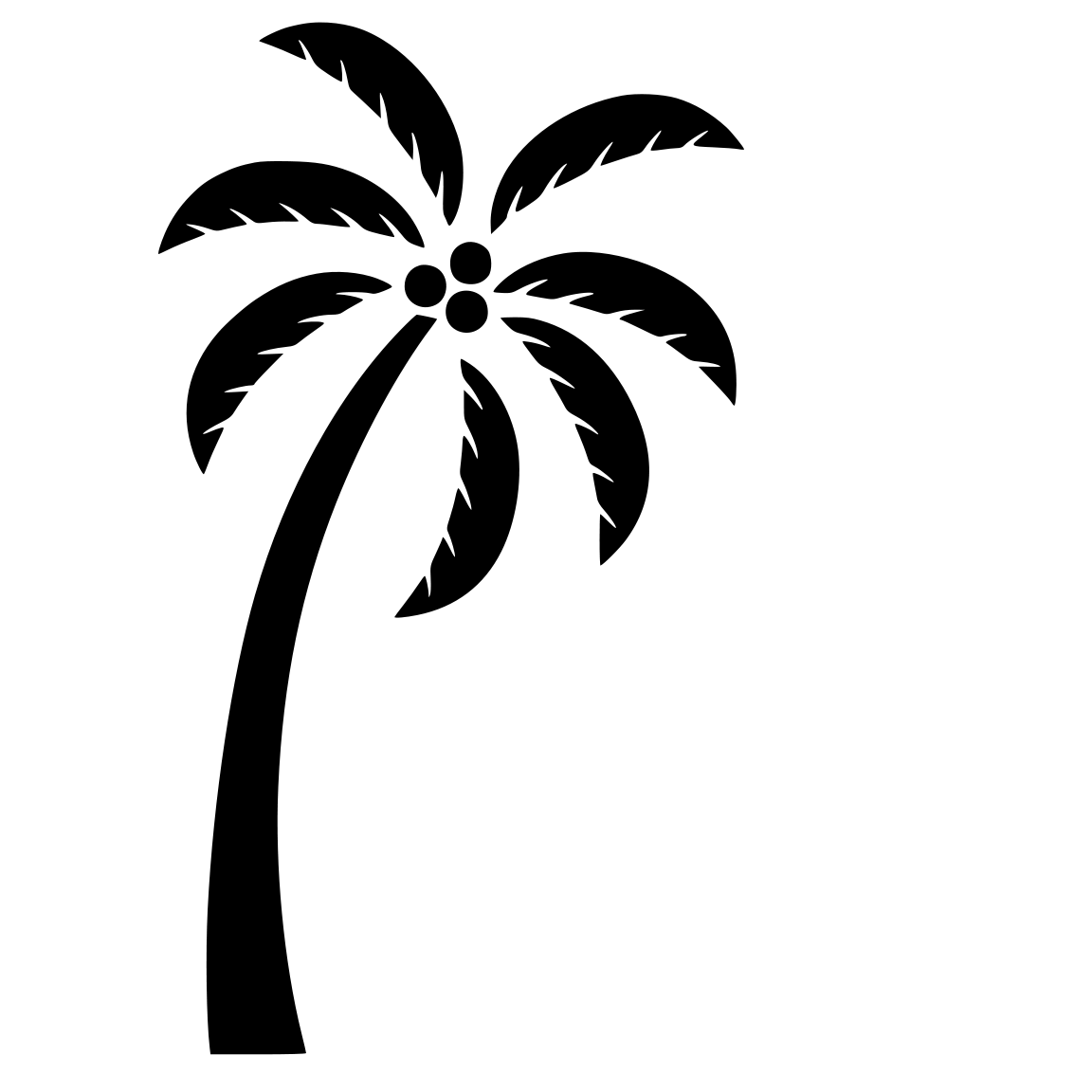 Cutting Files For You Palm Tree