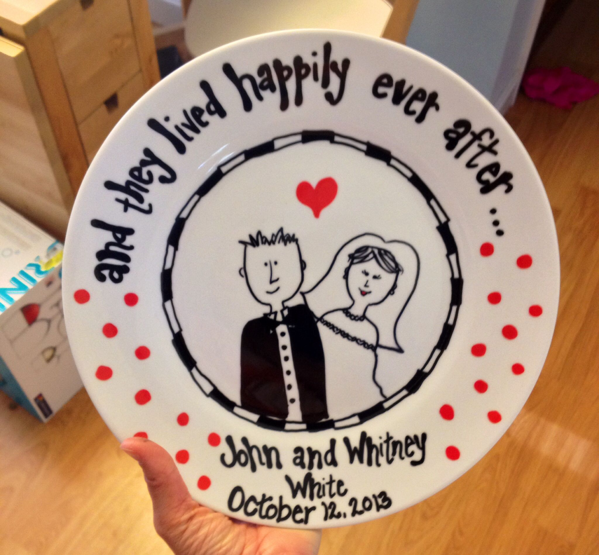 Wedding gift, would be cute DIY from kids! Cute ideas
