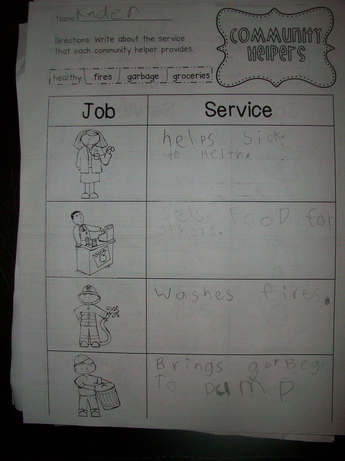 Sarah S First Grade Snippets Communities Unit