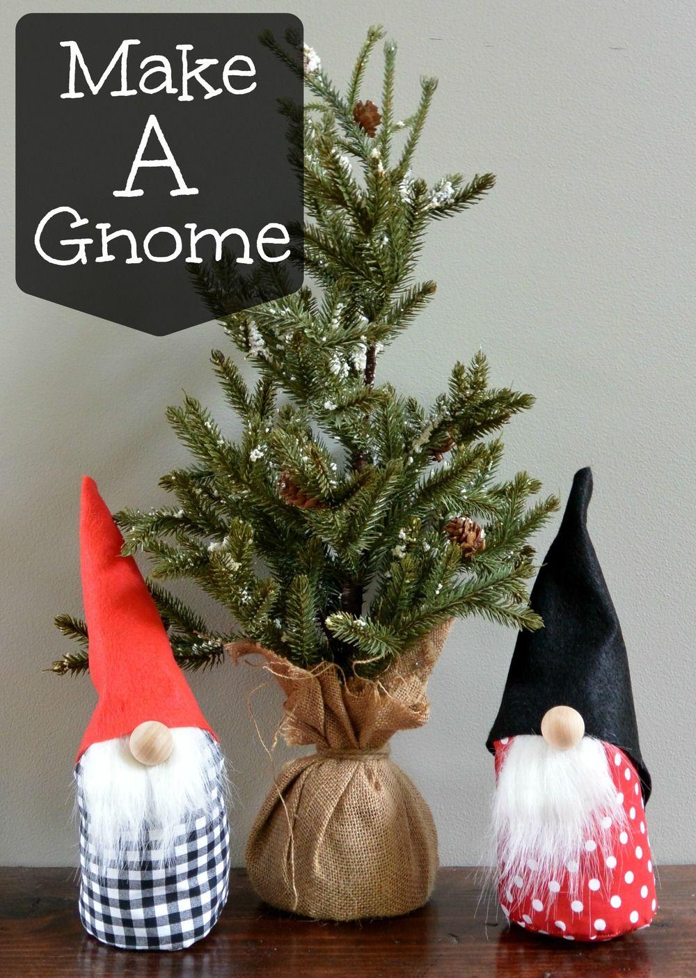 How to Make a Gnome Jouluaskartelu ja Joulukoristeet