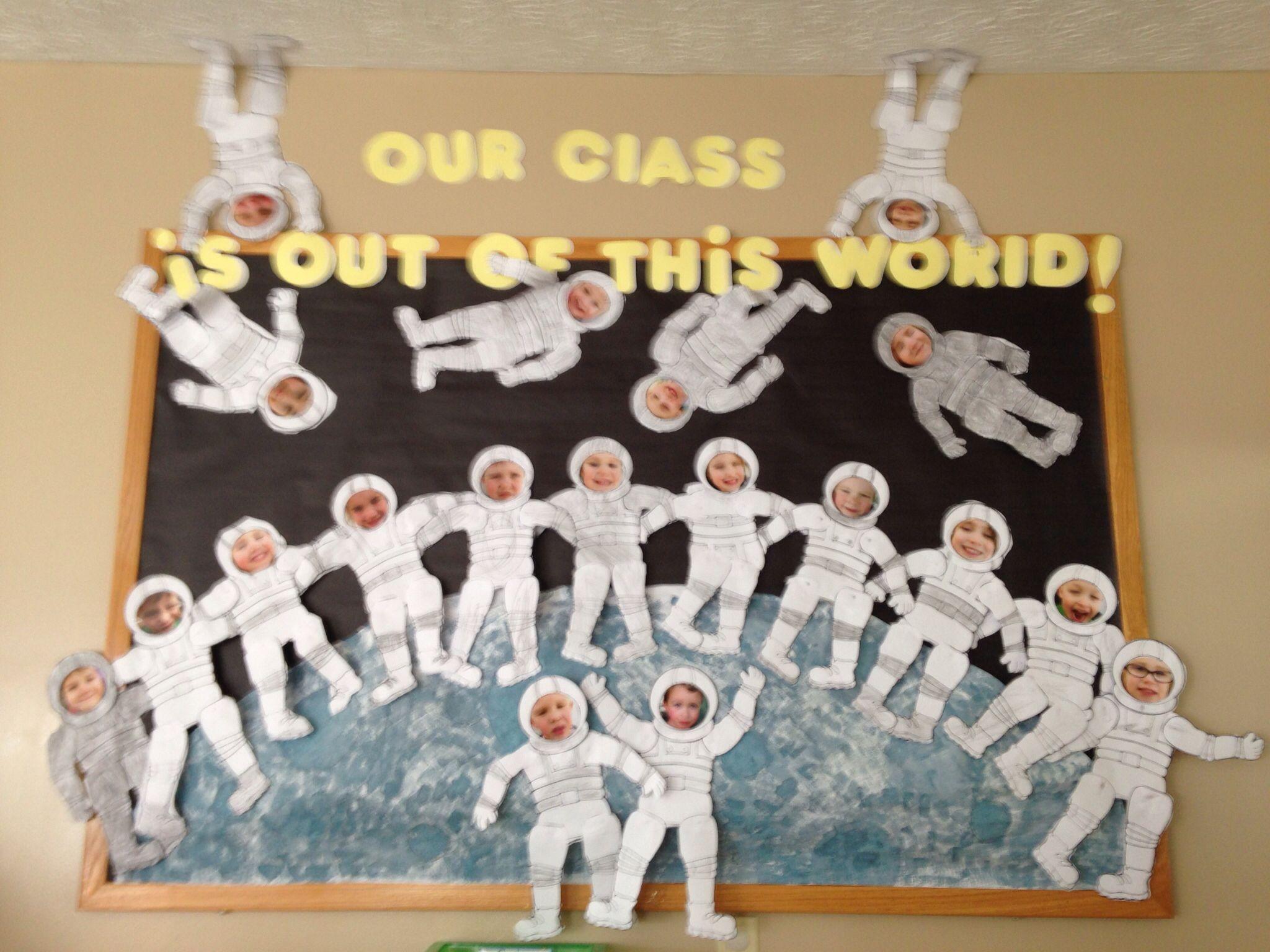Astronaut Space Bulletin Board