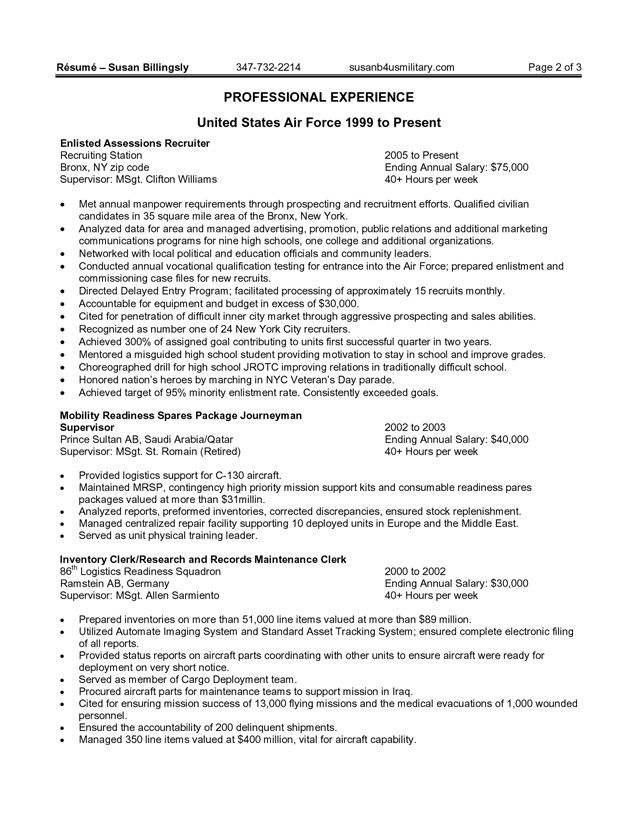resume examples federal and resume on pinterest