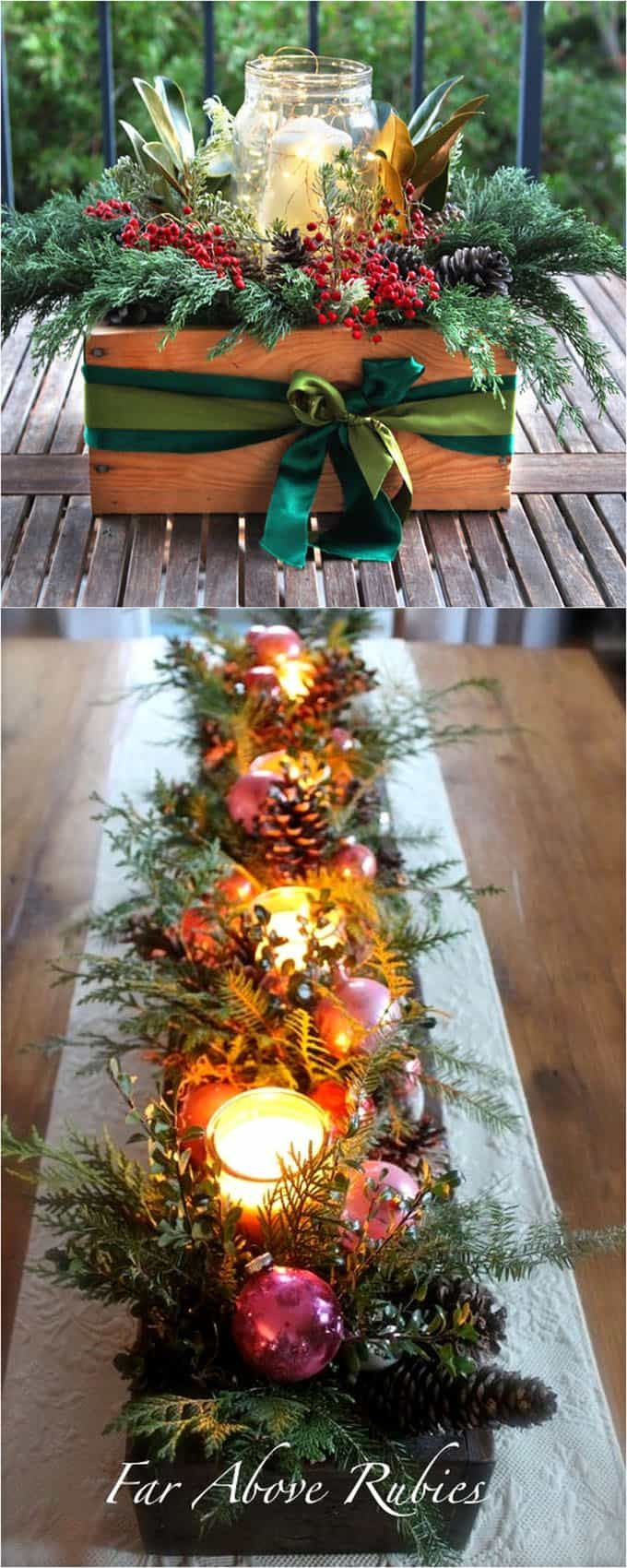 27 DIY Thanksgiving & Christmas Table Decorations