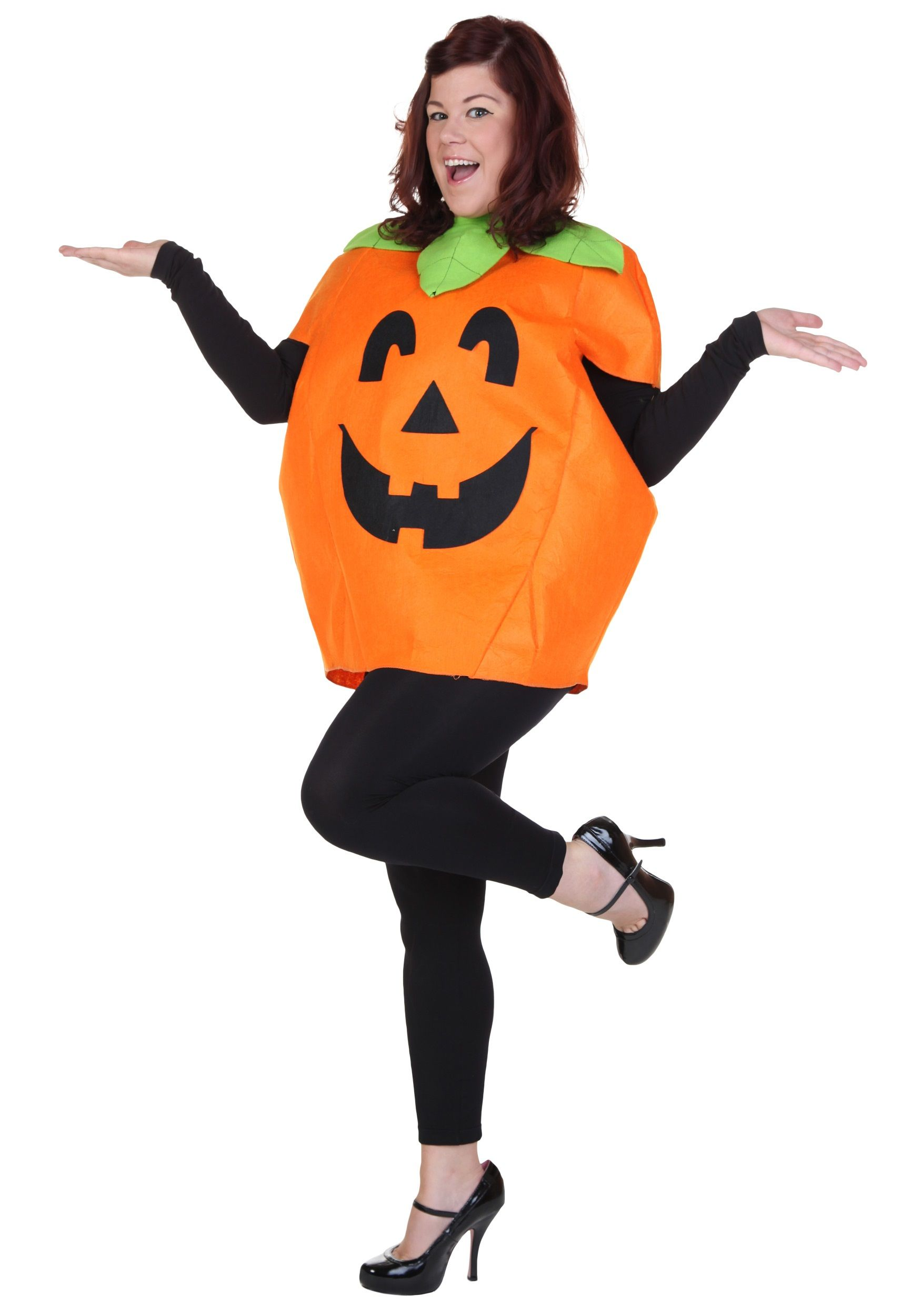 Adult Classic Pumpkin Costume Men Halloween Costumes