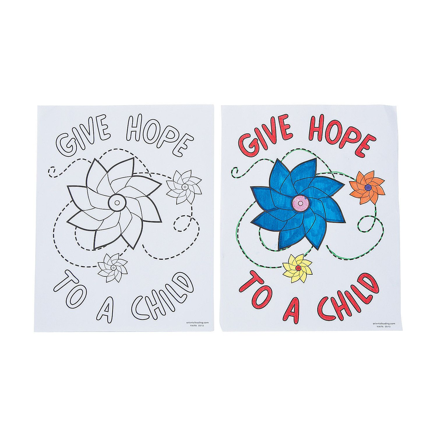 Coloring Pages For Child Abuse Prevention