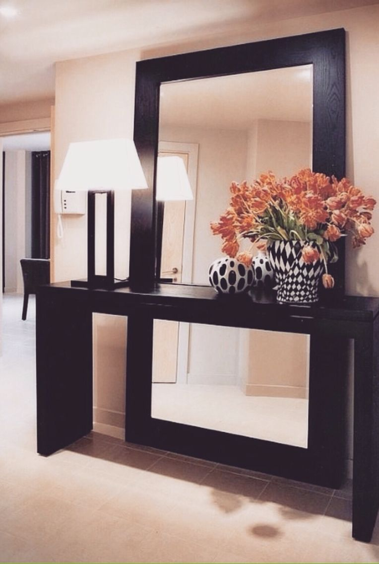 Decorate Using Oversized Mirrors The Mirror Tables And