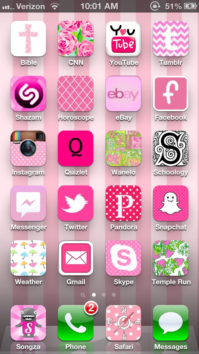 My beautiful home screen thanks to carolinaprincess