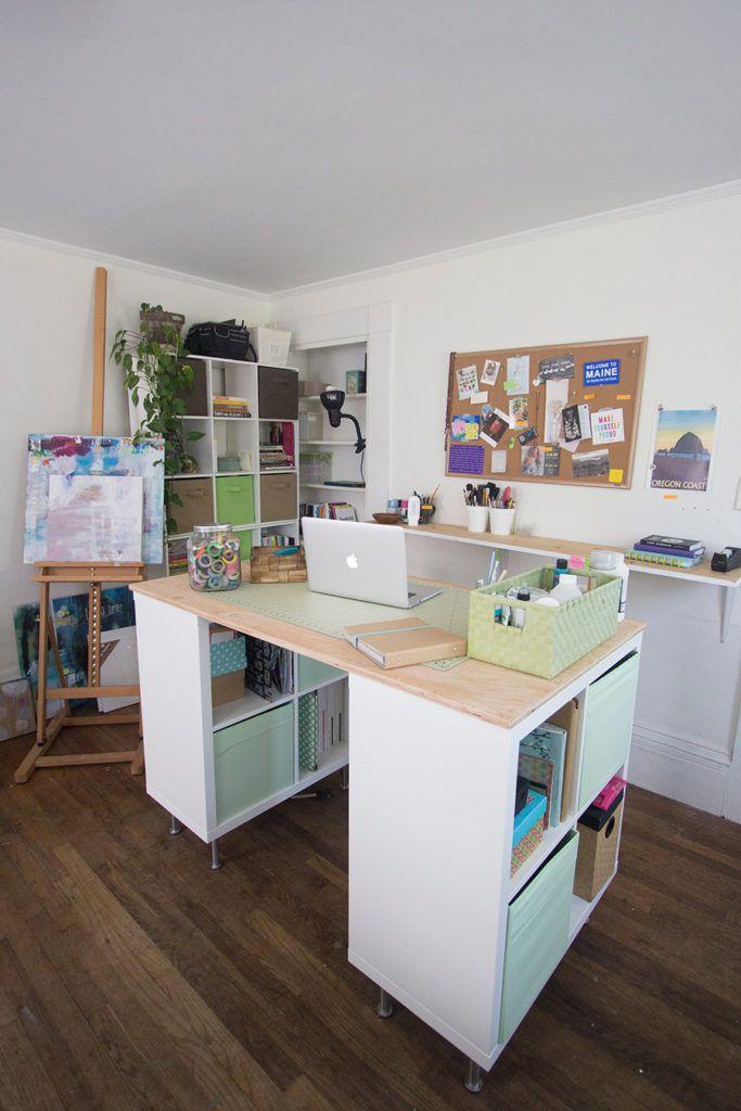 Interesting Elegant Ikea Standing Desk Diy With Bidouille