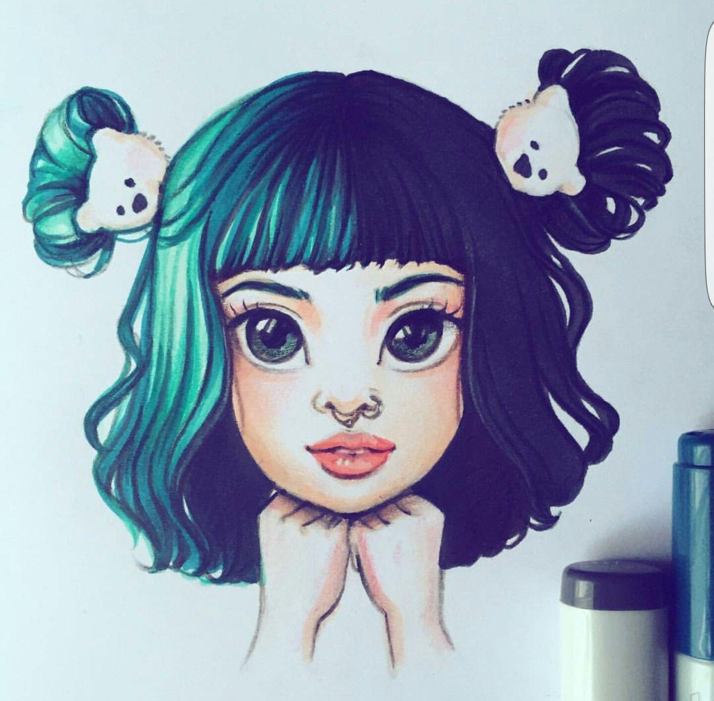 Melanie Martinez Realistic Drawing