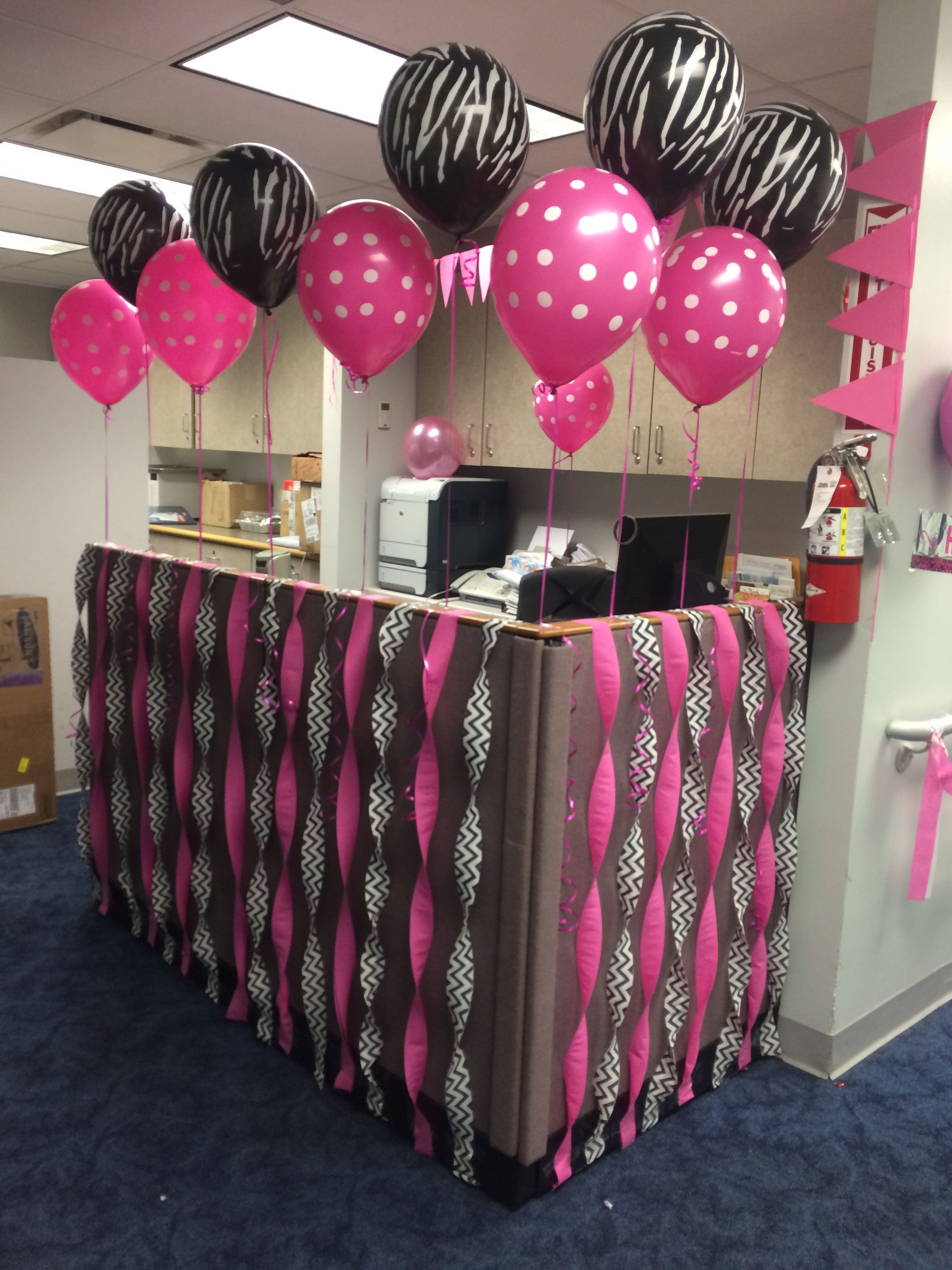 Important Inspiration 26 Birthday Decorations For Work Cubicles