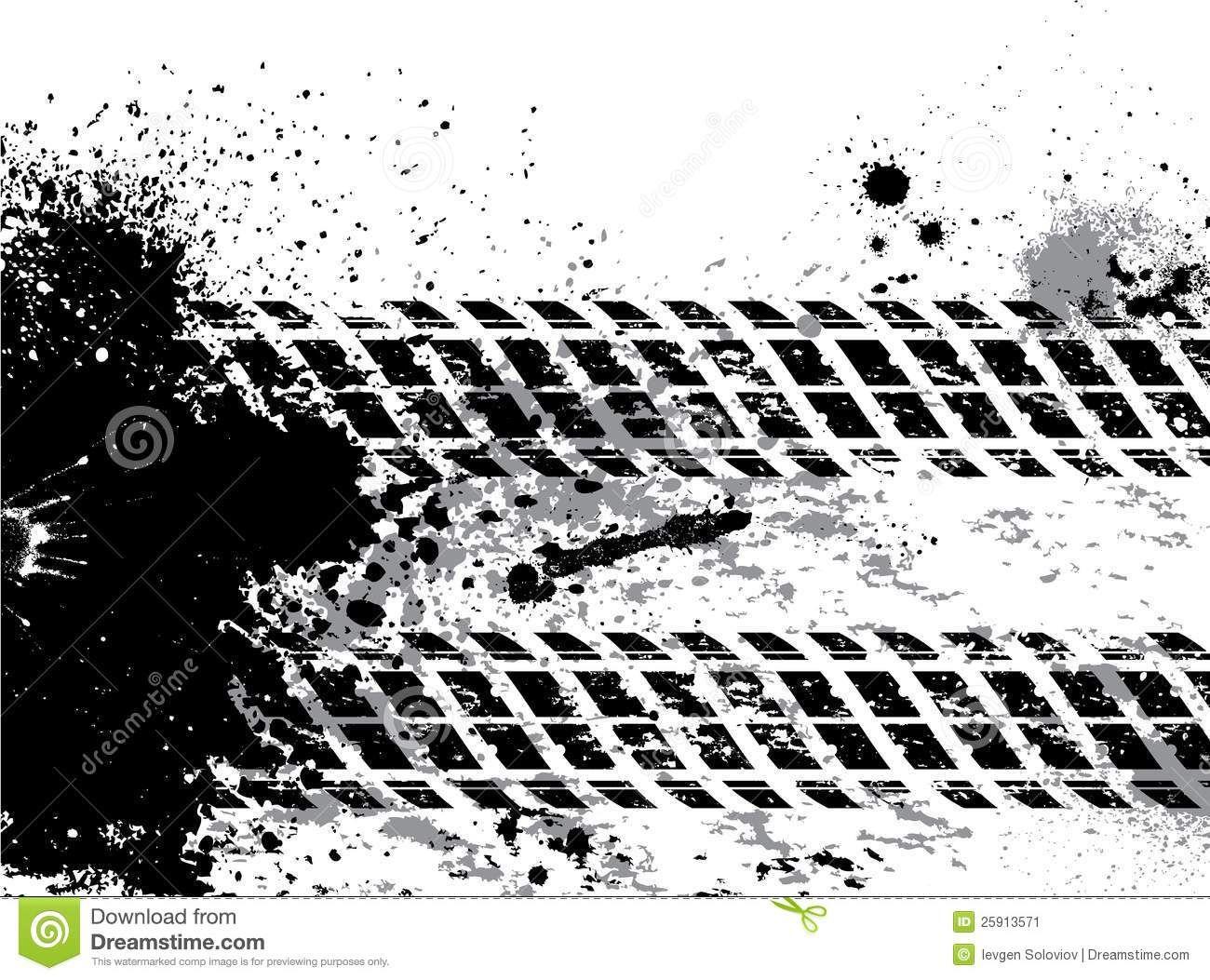 Monster Truck Tire Tracks Clip Art Clipart tire tracks