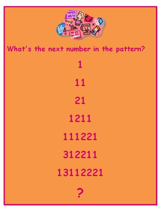 Free math riddle poster! Math Pinterest Free math