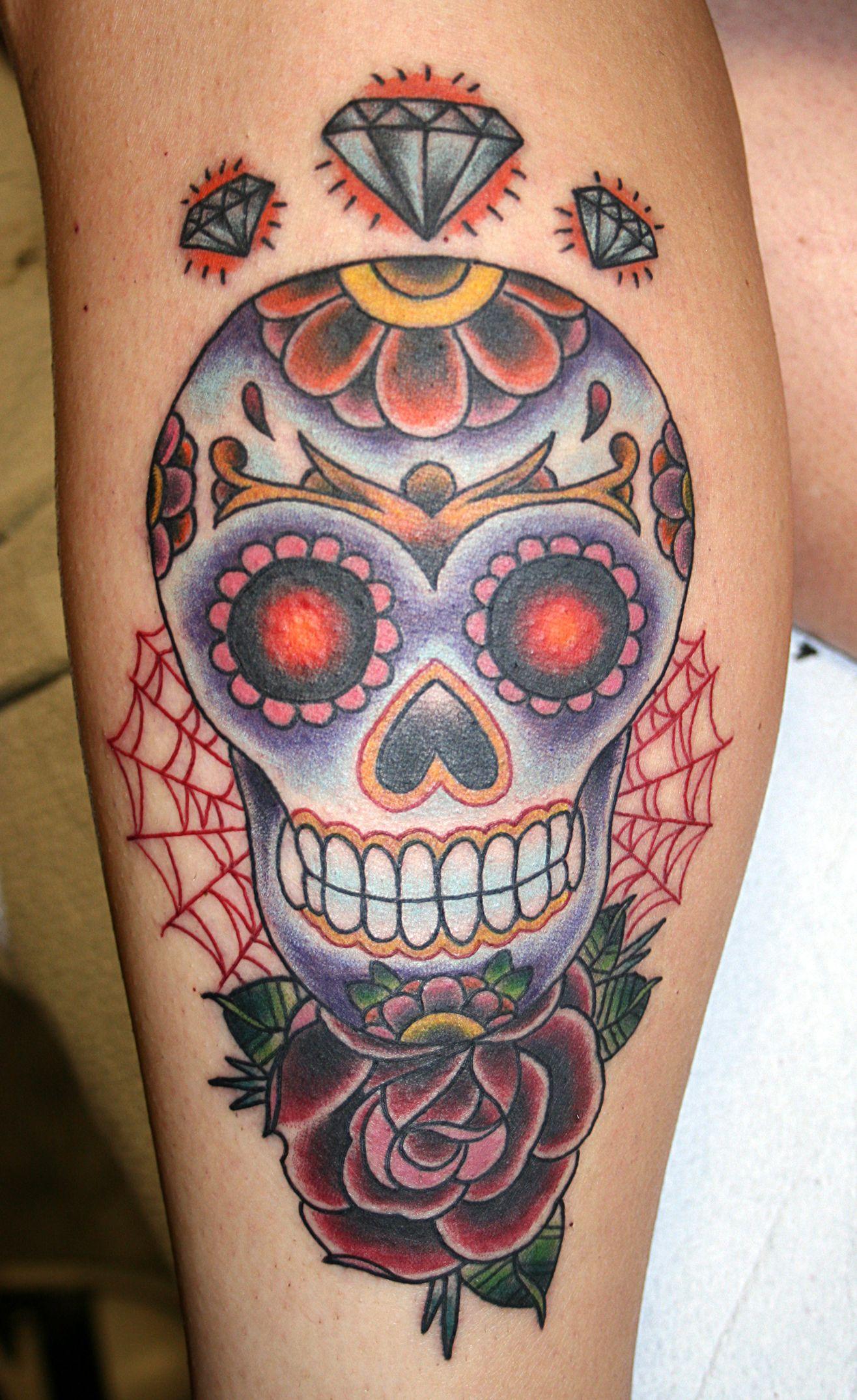 Skull Tattoo Designs Ideas Sugar skulls, Candy skulls