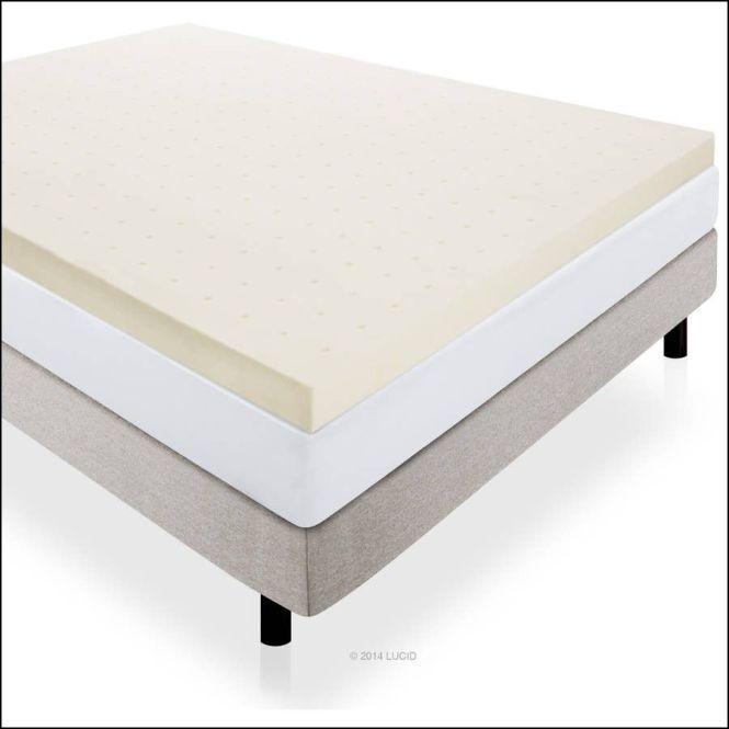 Serta Ultimate 4 Inch Memory Foam Mattress Topper Queen