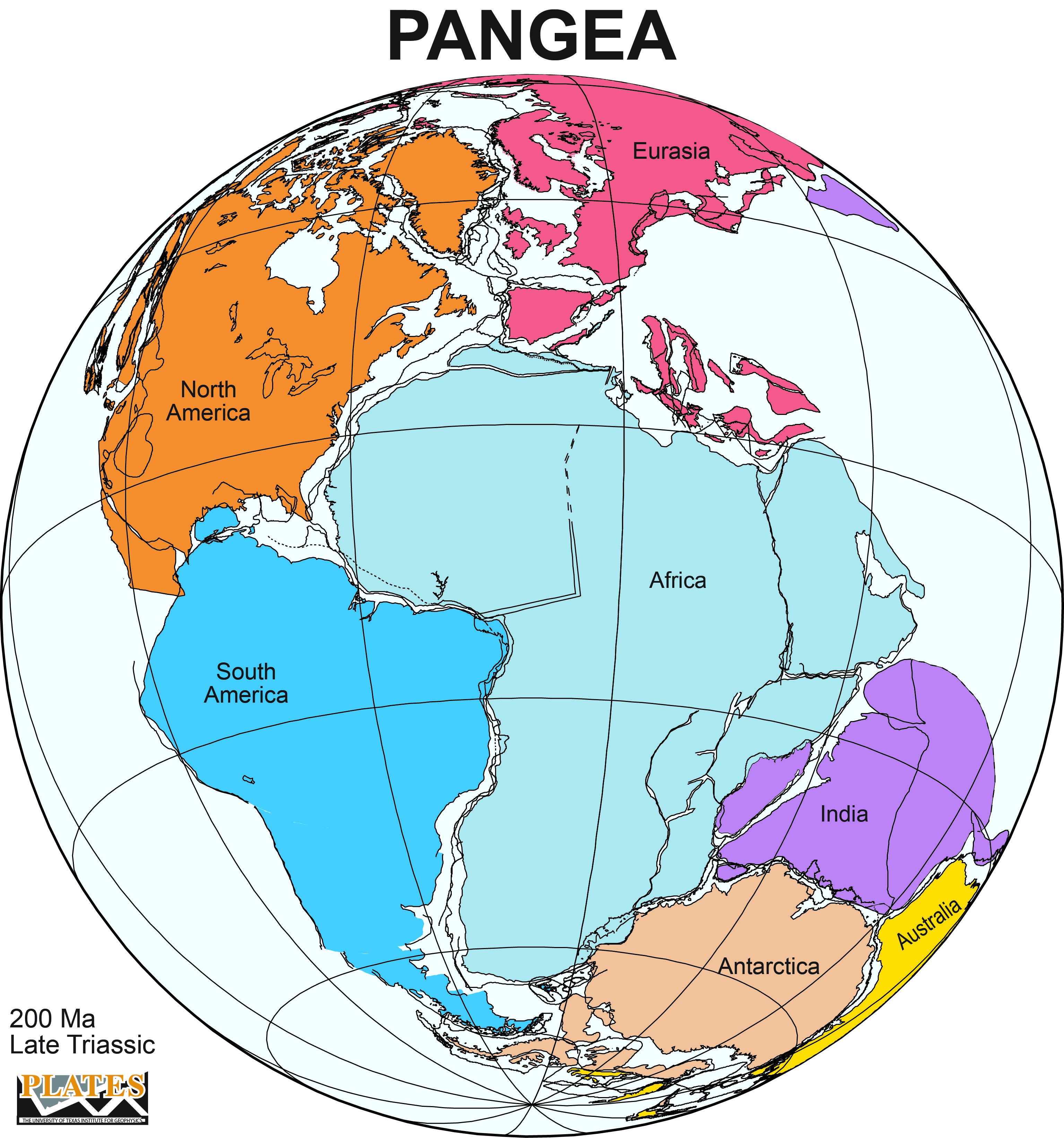 Pangea Was A Supercontinent That Existed About 300 Million