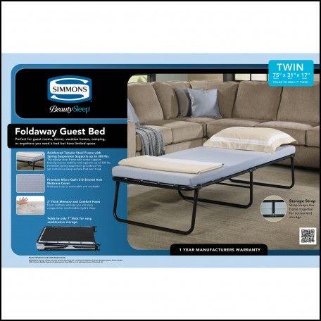 Mattress Memory Foam Cot Fold Up Bedsfolding
