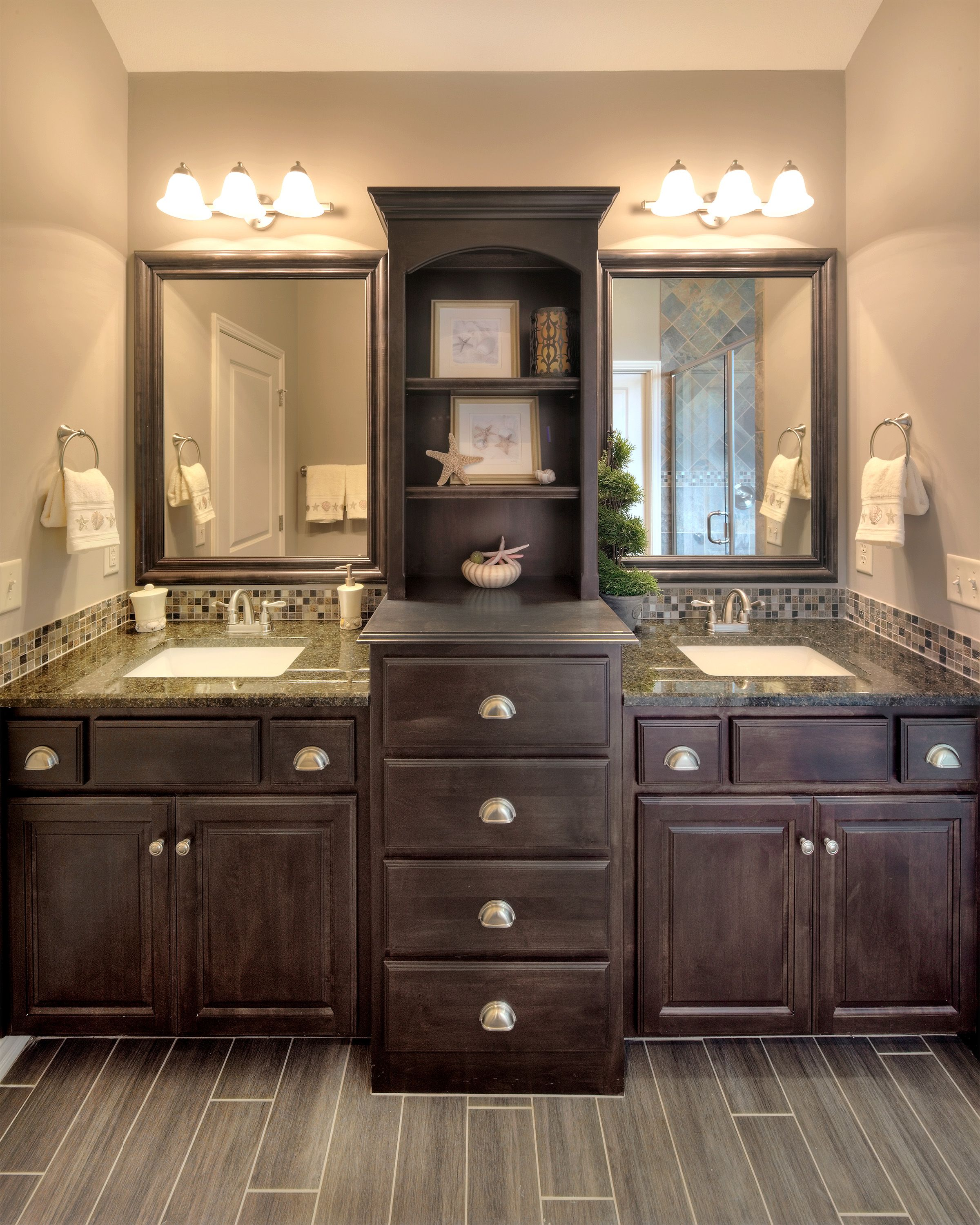 Image Result For Two Floor To Ceiling Cabinets Sink