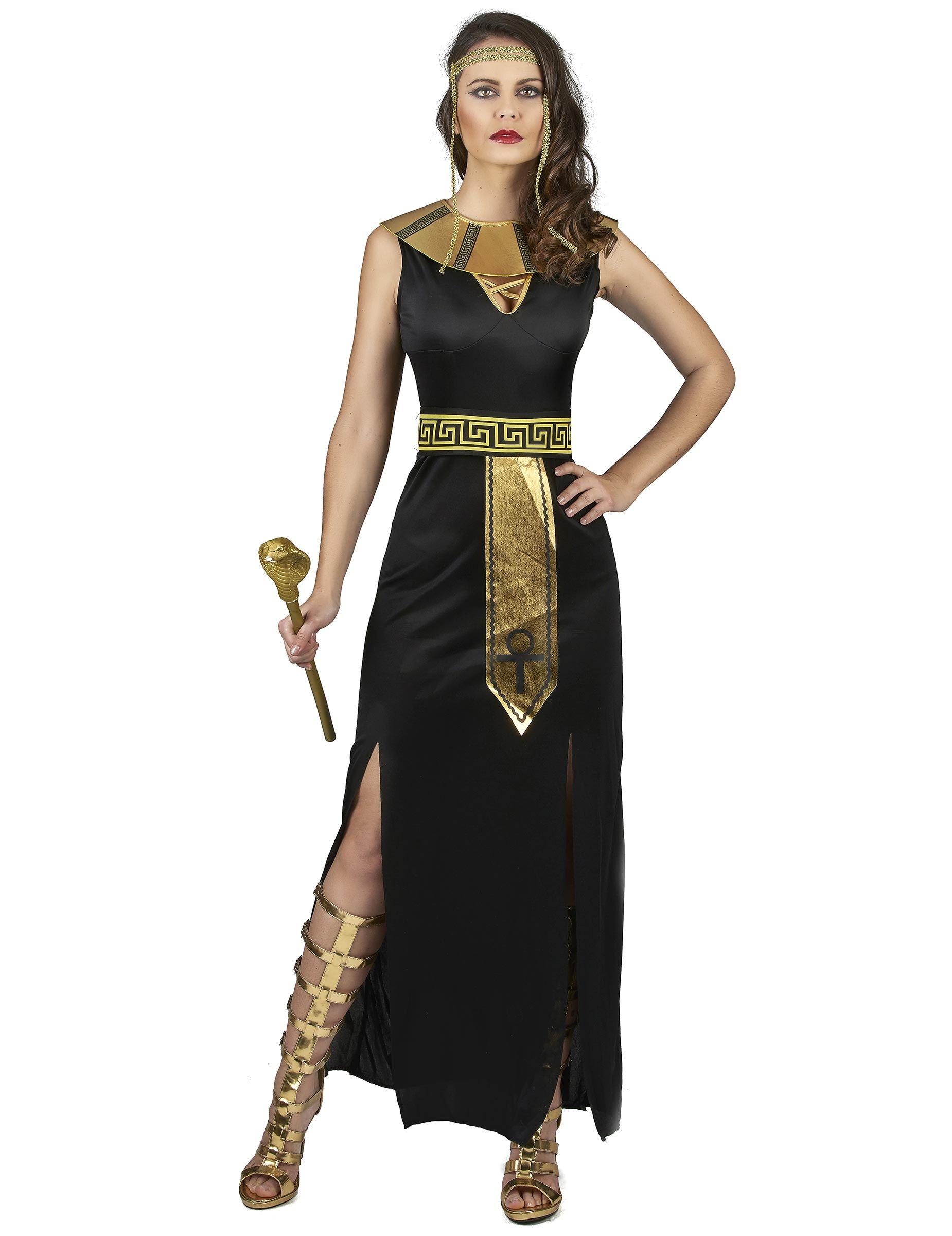 Disfraz diosa del Nilo mujer Este disfraz de egipcia para