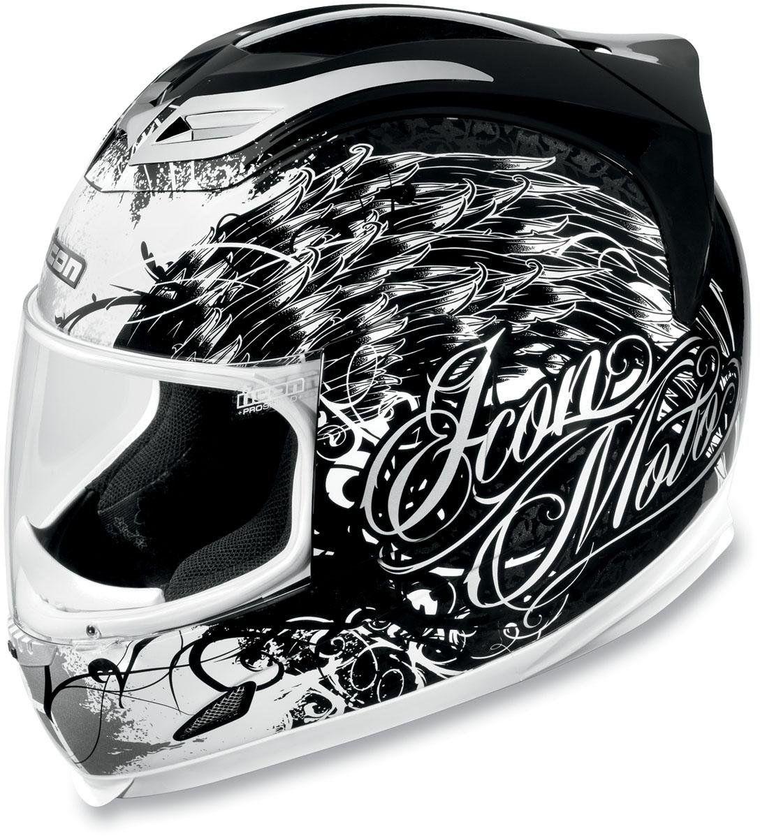 Icon Airframe Street Angel Helmet , Size Sm