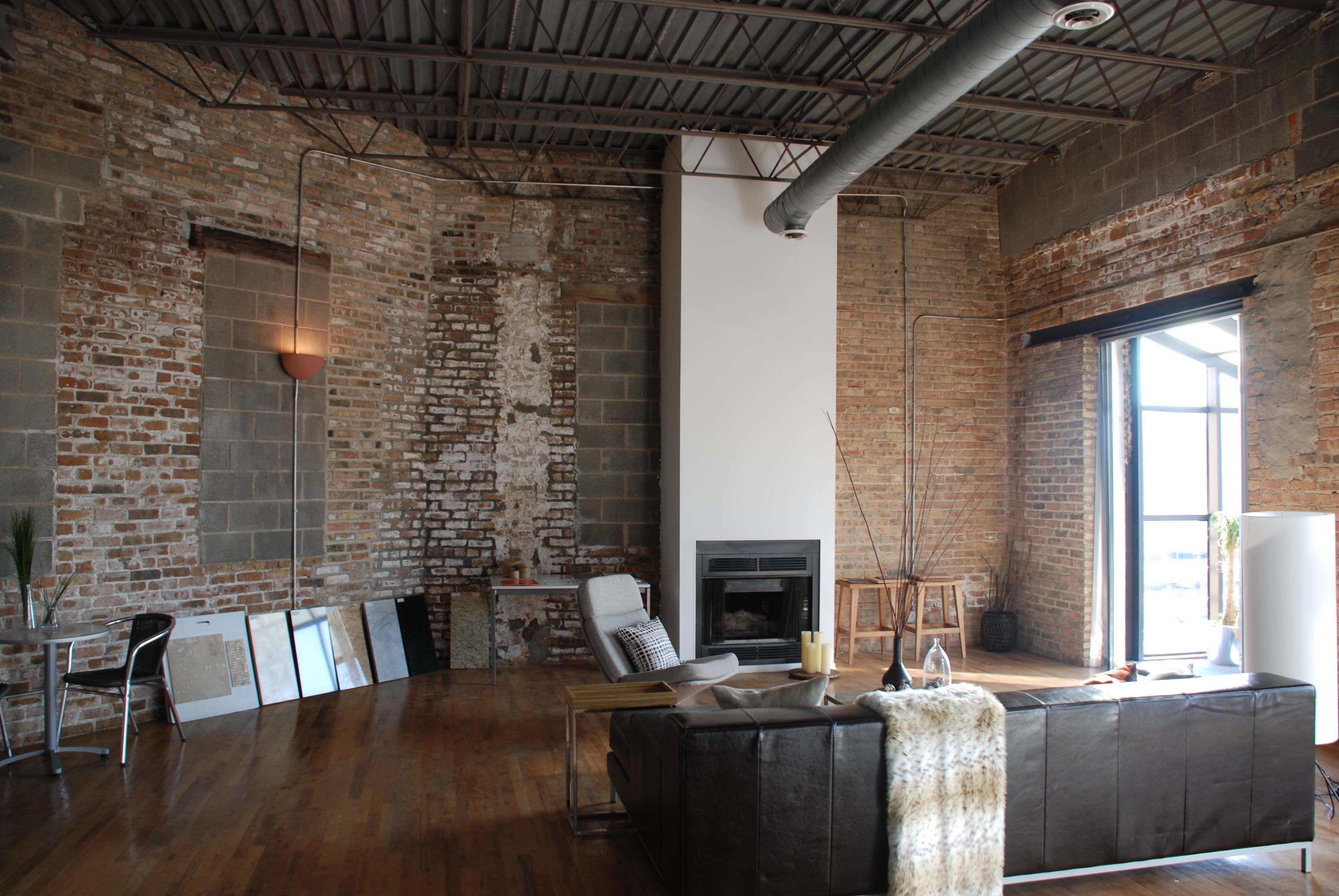 Industrial Loft Apartment On Pinterest