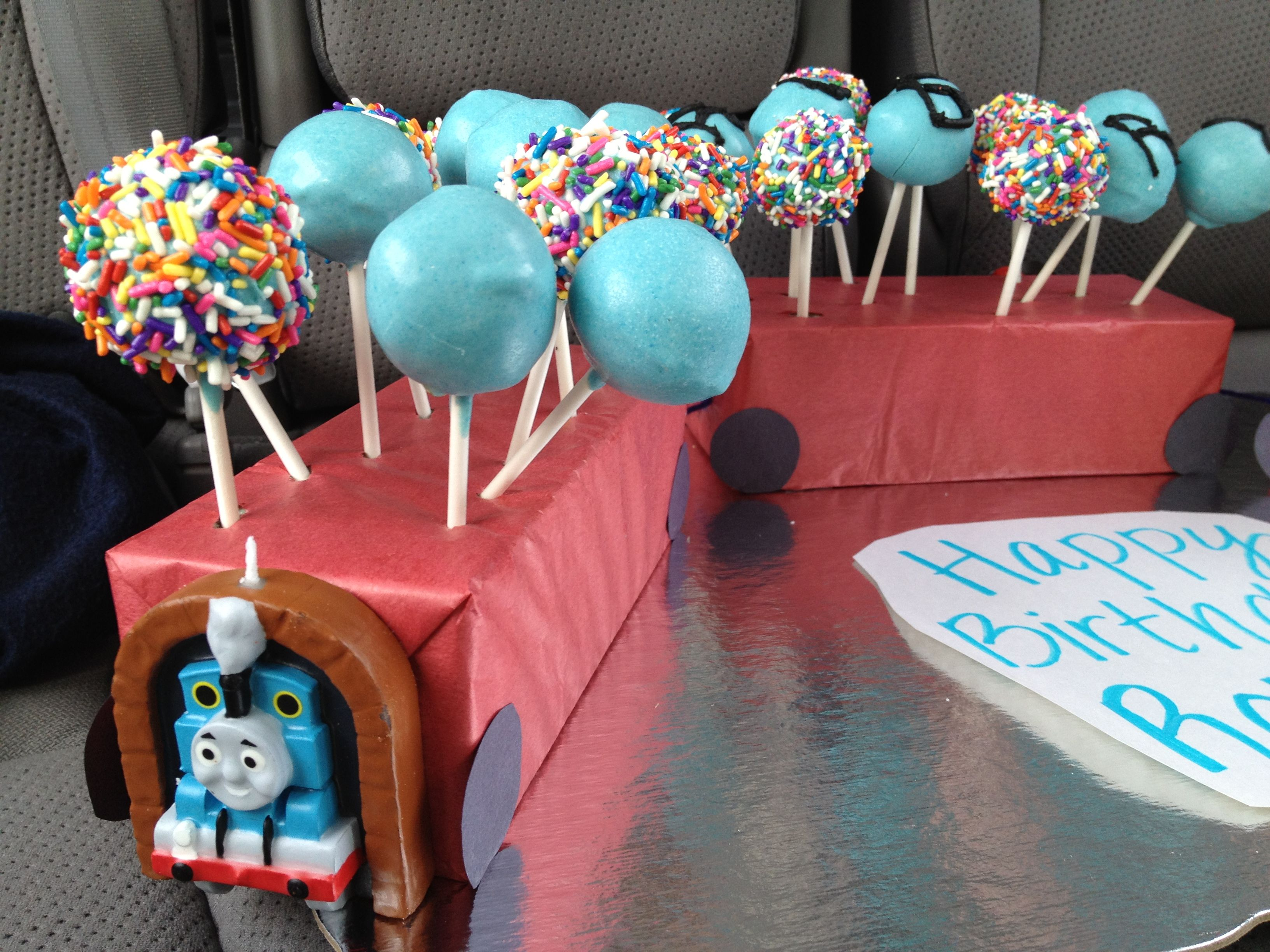 Cake Pops For 4 Year Old Boy S Birthday