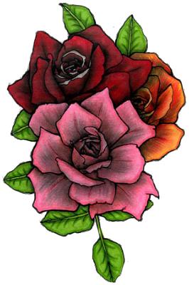 RoseTattooPNGPic.png (266×400) timetome Pinterest