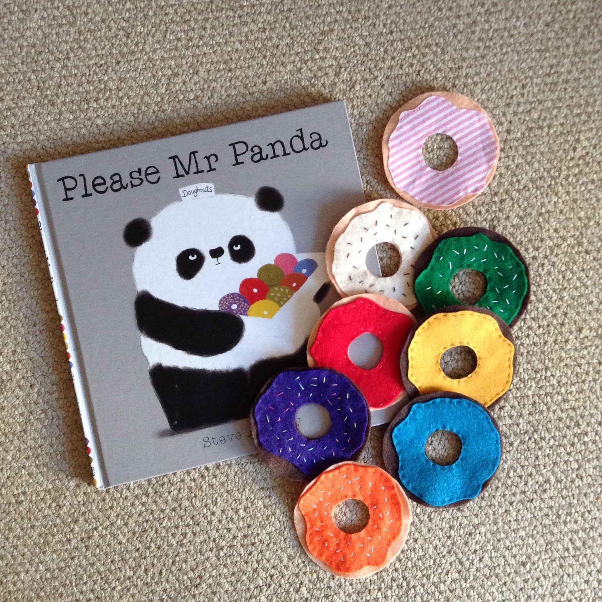 Please Mr Panda Story Sack Doughnuts Also Make Great