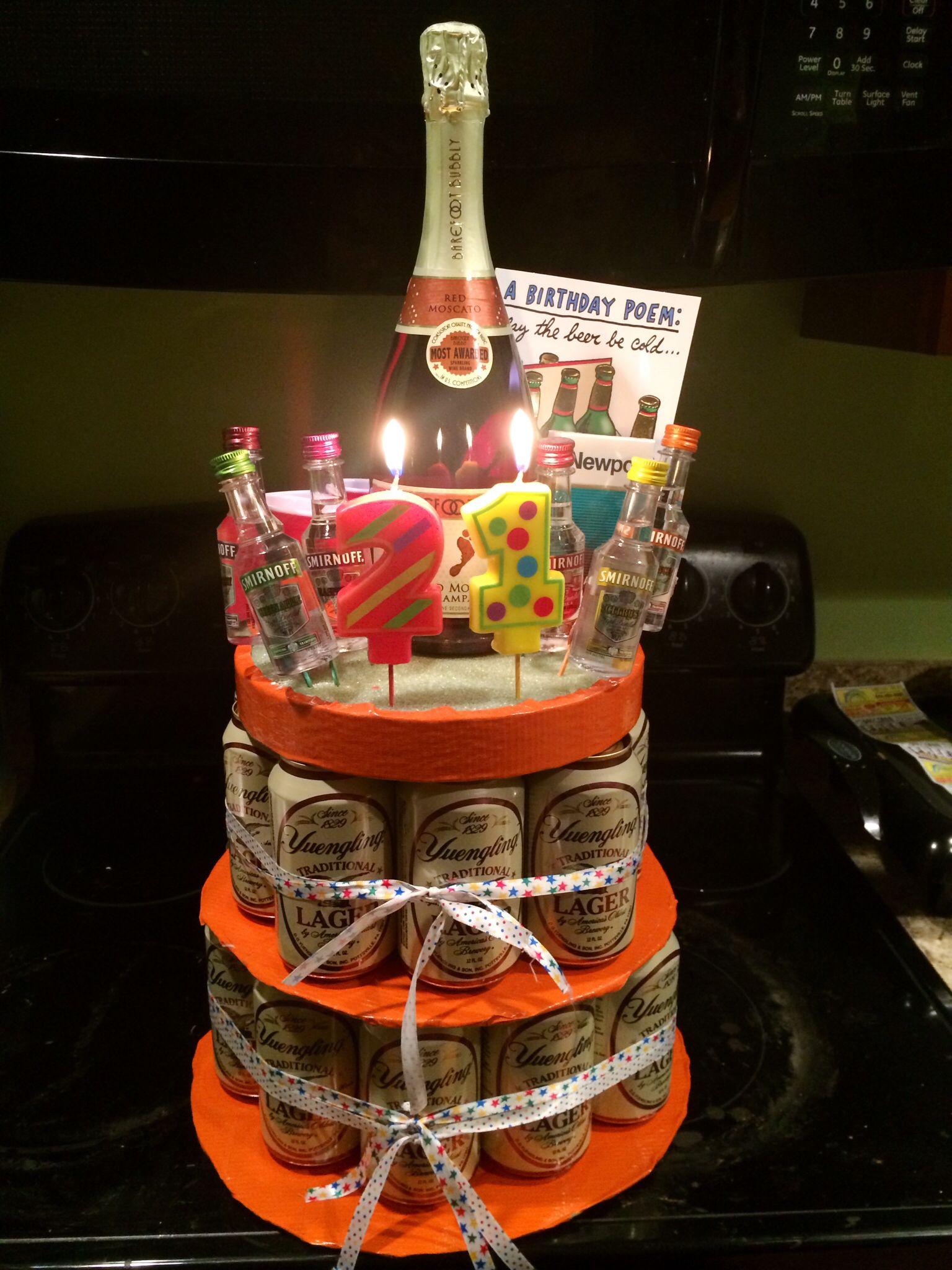 My 21st Birthday Cake For Him