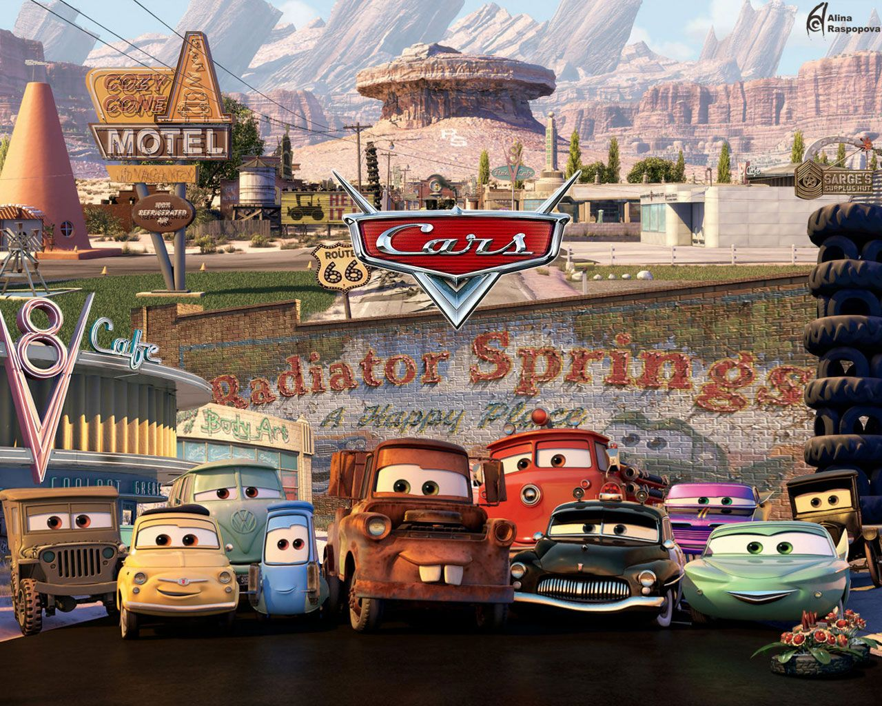 cars 2 movie Download movie cars wallpaper, 'Cars 2