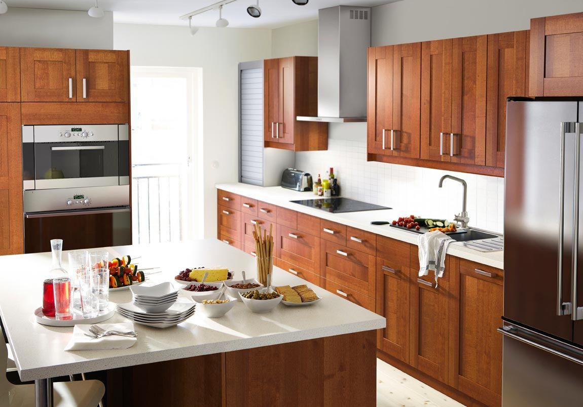 Best Kitchen Gallery: Awesome Ikea Kitchen Design Services Part 1 Ikea Kitchen Designs of Ikea Oak Kitchen Cabinets on rachelxblog.com