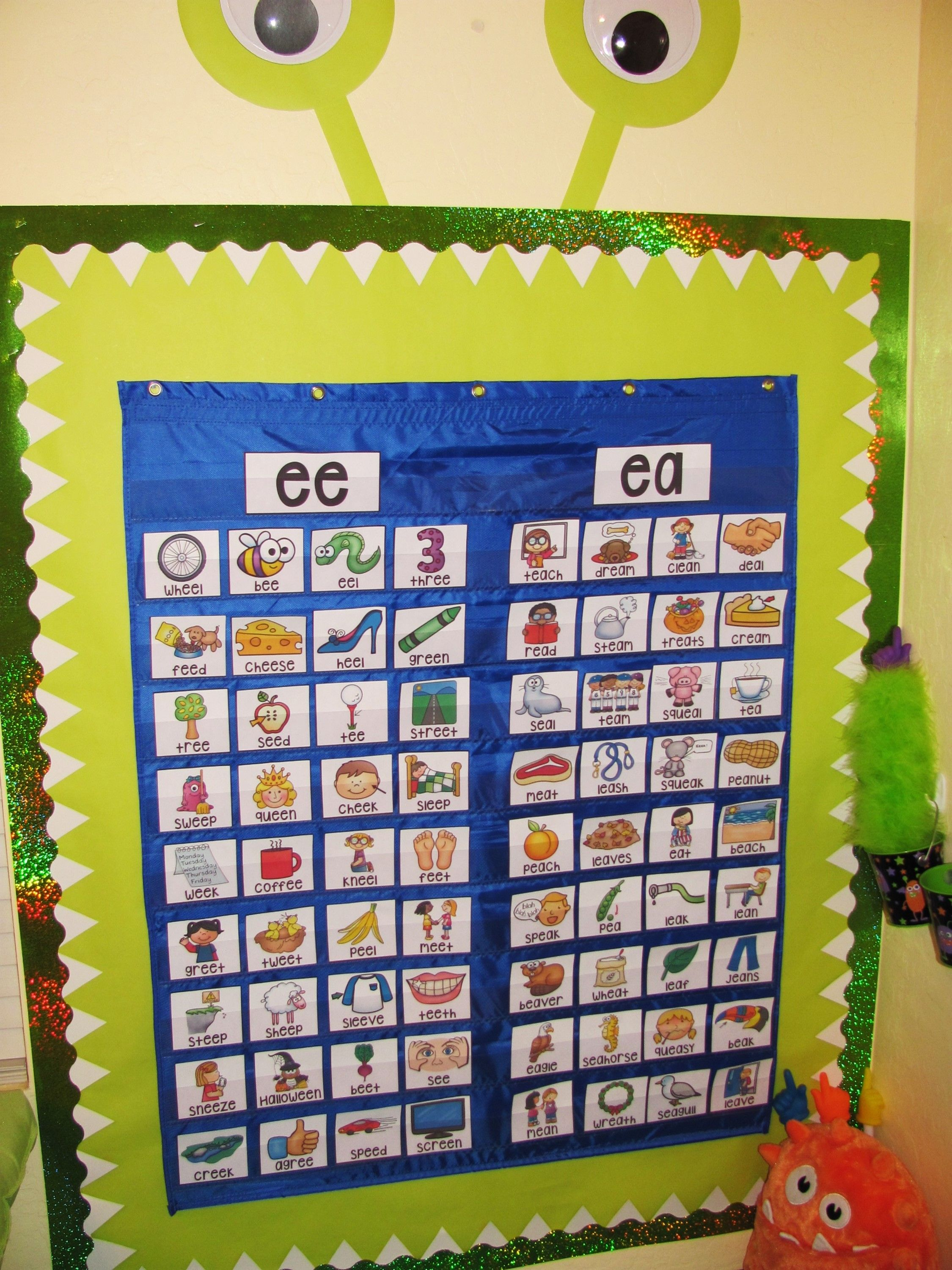 Ee Ea Sort Center She Has Them For Every Phonics Sound