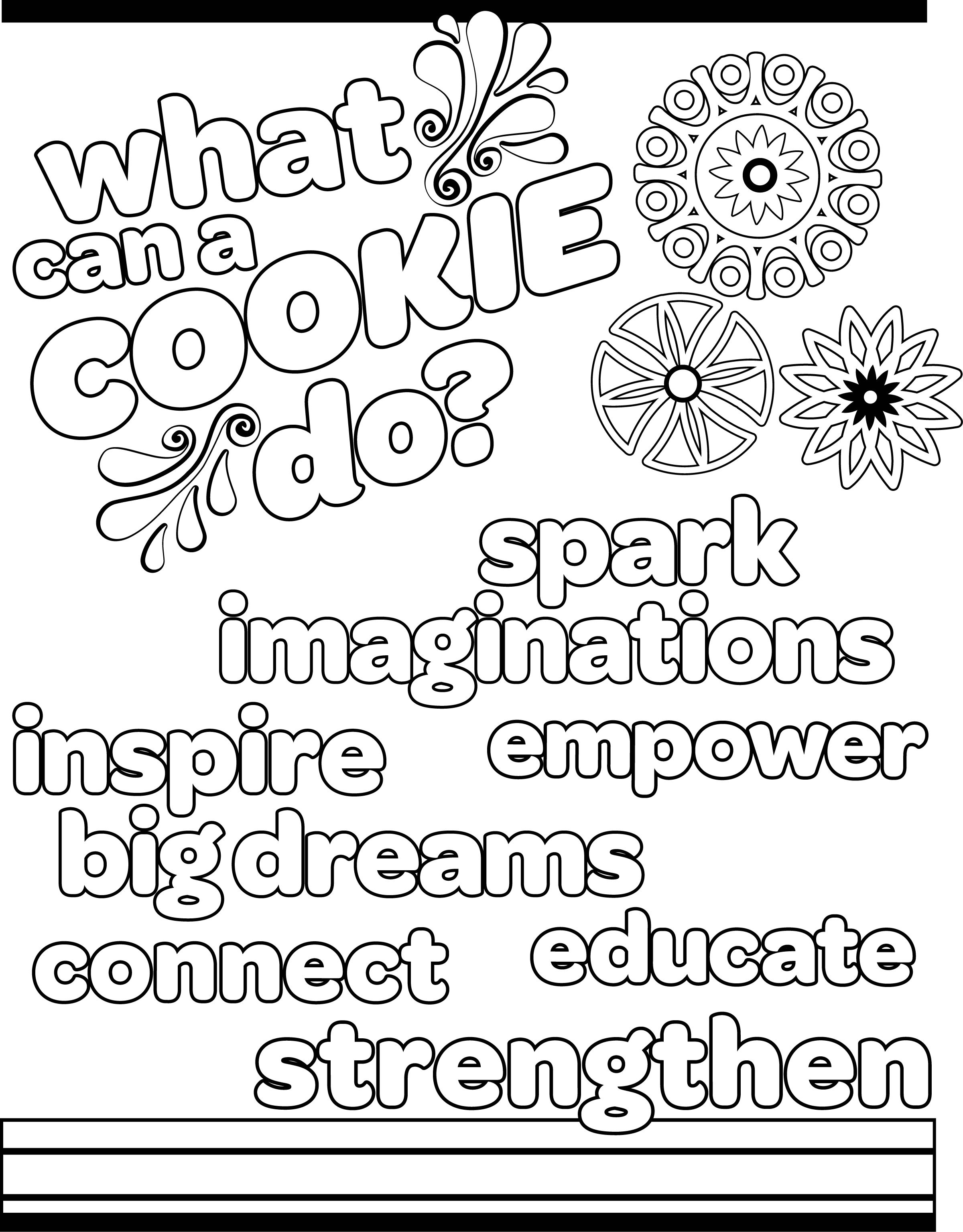Abc Girl Scout Cookies Coloring Pages