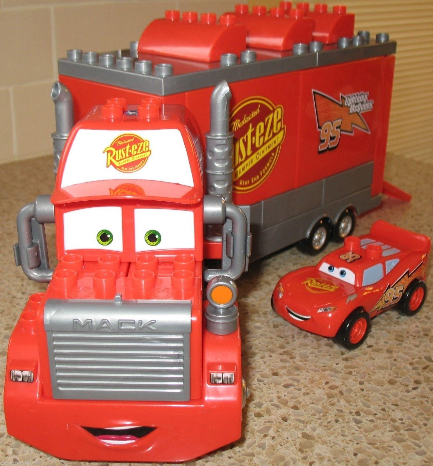 How fun is this Mega Bloks Disney Pixar Cars Set 7769 Mack