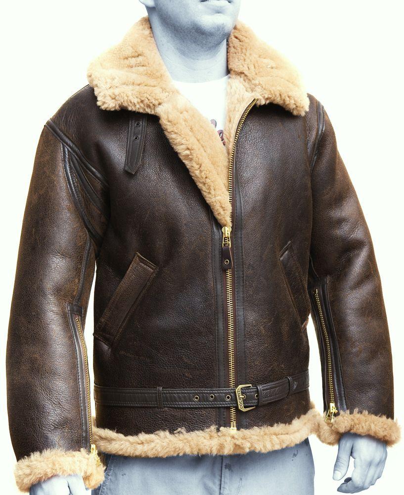 RAF Leather Bomber Jacket RAF Aviator Vintage Jacket