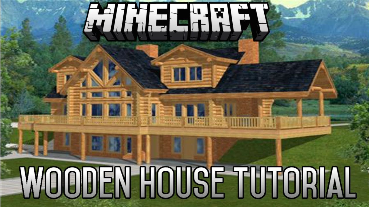 Minecraft Epic Wooden House Tutorial Part 7 (1.8.1