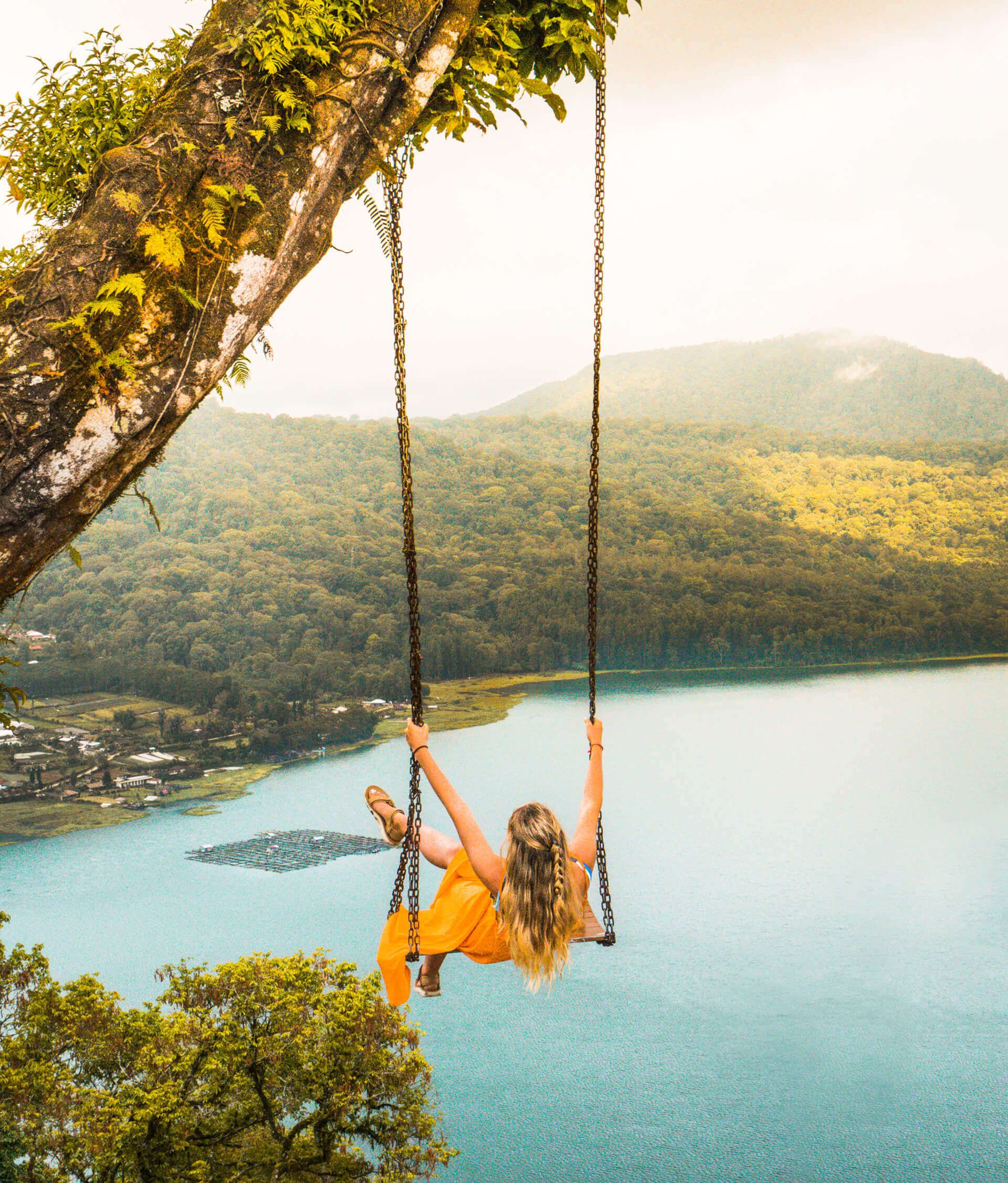 munduk things to do swing viewpoint wanagiri swing Bali