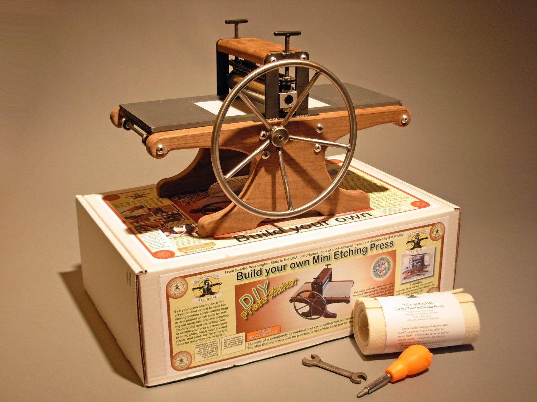 DIY Mini Etching Press an honesttogoodness par