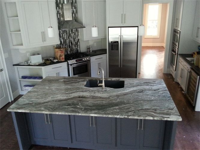Fantasy Brown Quartz This Kitchen Has The Same Counter Top Colors That We Chose But My