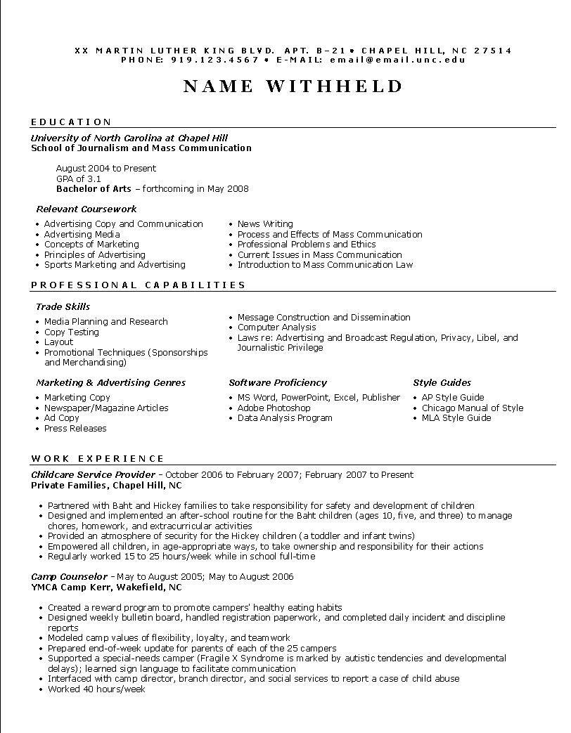 Functional Resume Samples Functional Resume Example