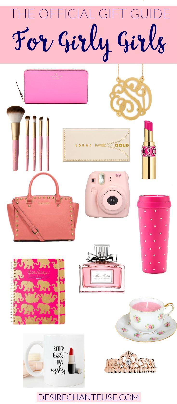 Official GirlyGirl Gift Guide Girl christmas gifts