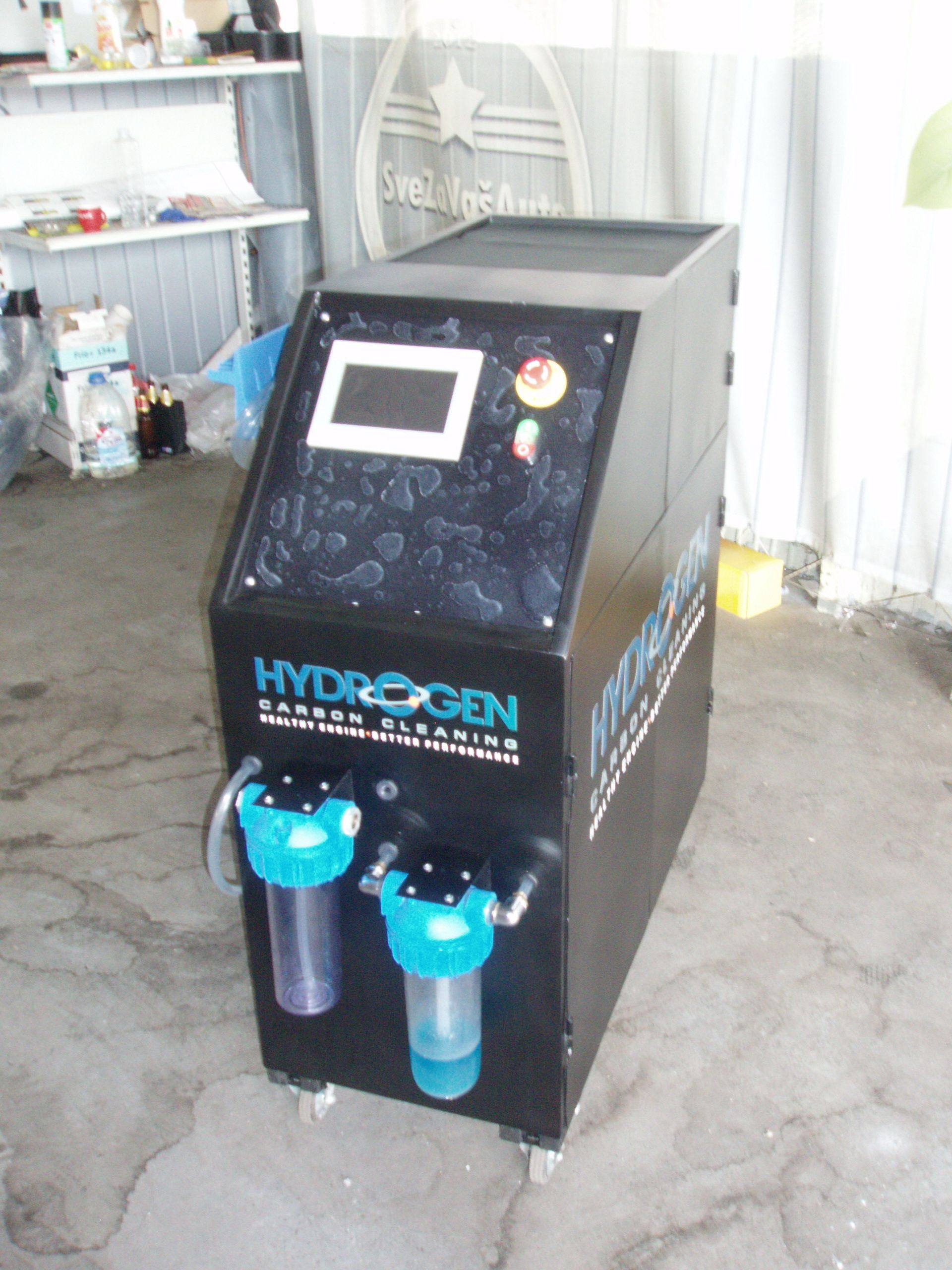 """SERVICE """"CARBON CLEANING"""" HYDROGEN SOLUTIONS hho"""