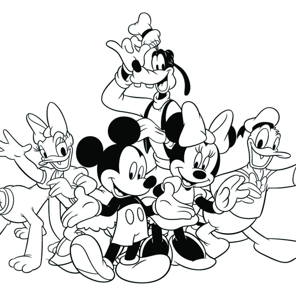 Disney Mickey S Typing Adventure Coloring Page