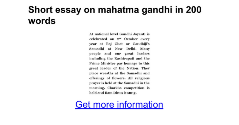 short essay on mahatma gandhi in telugu  mistyhamel gandhi jayanti essay in english  words creativecard co