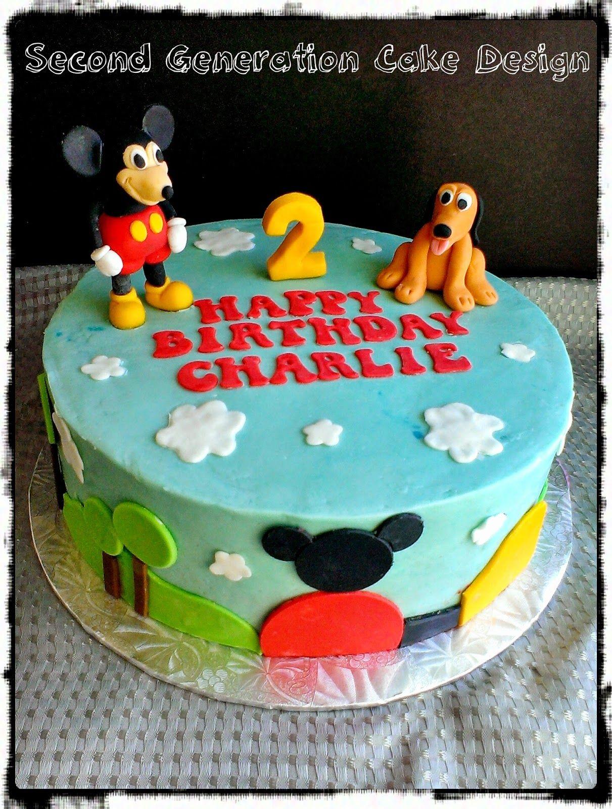 Disney Pluto Cakes