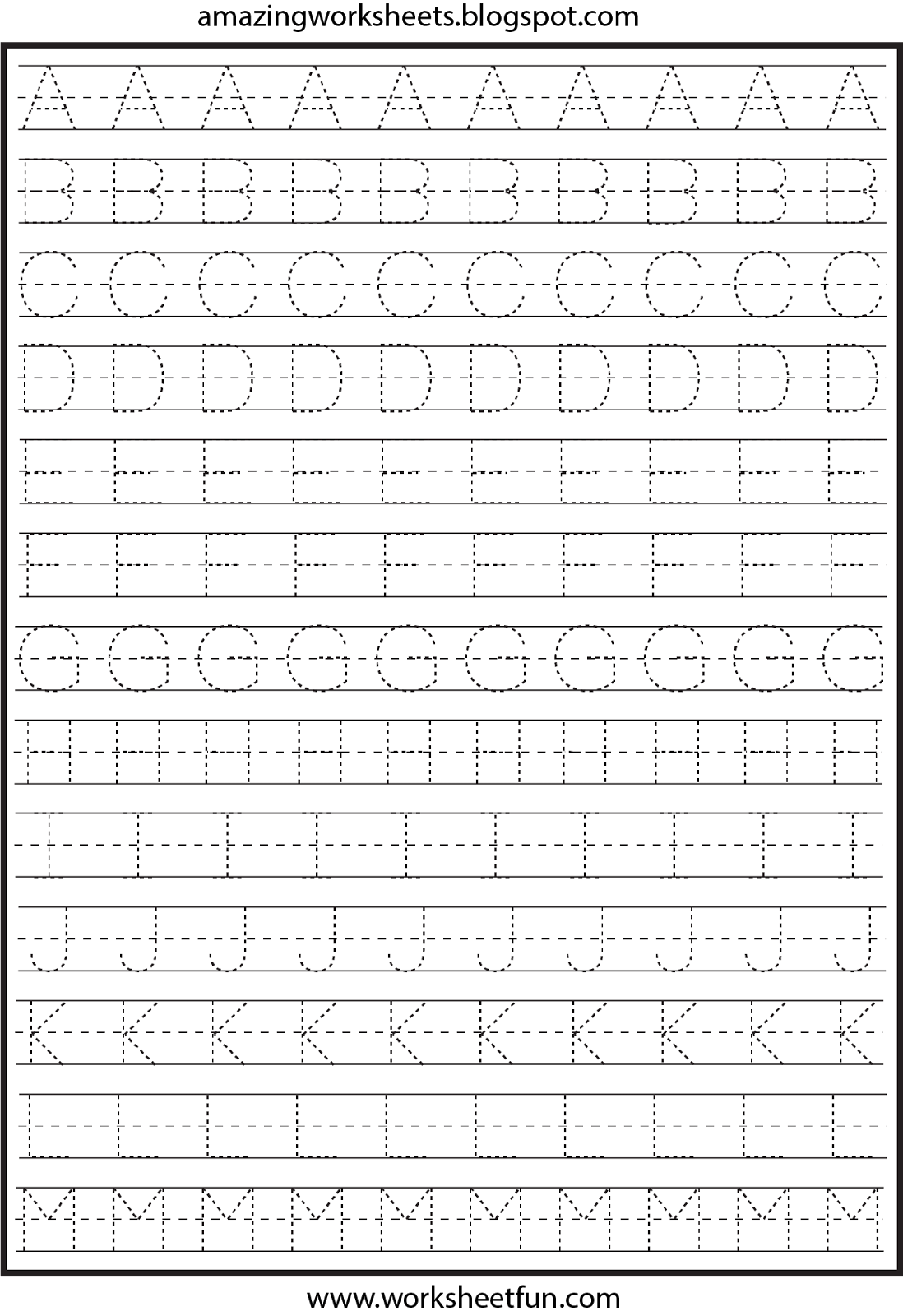Free Printable Worksheets