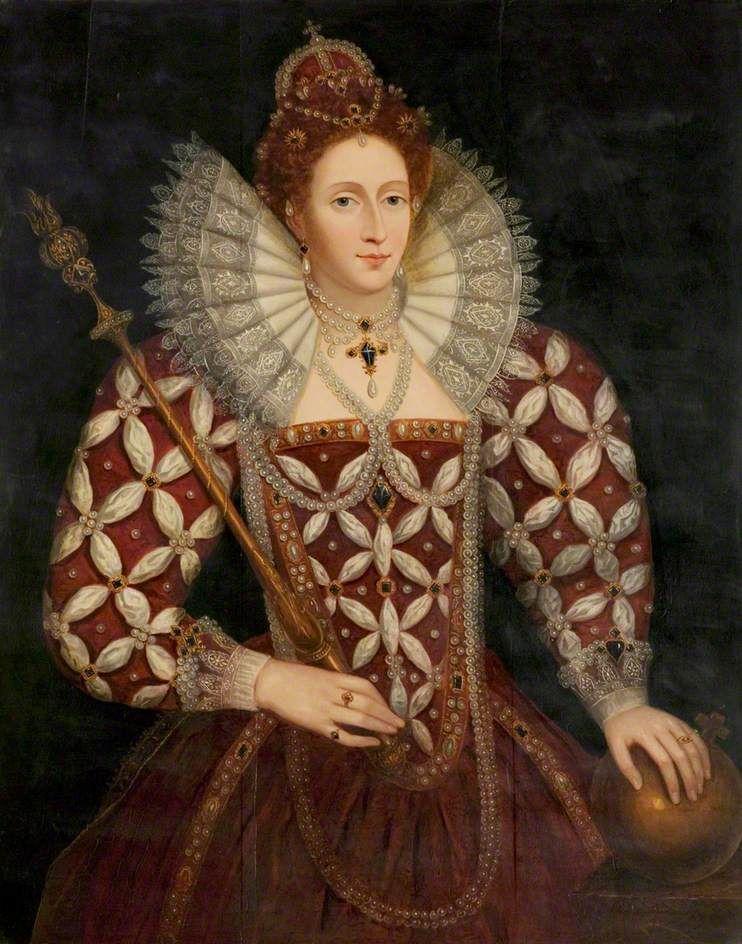 QUEEN ELIZABETH I (TAG PUBLIC DOMAIN) Public Domain