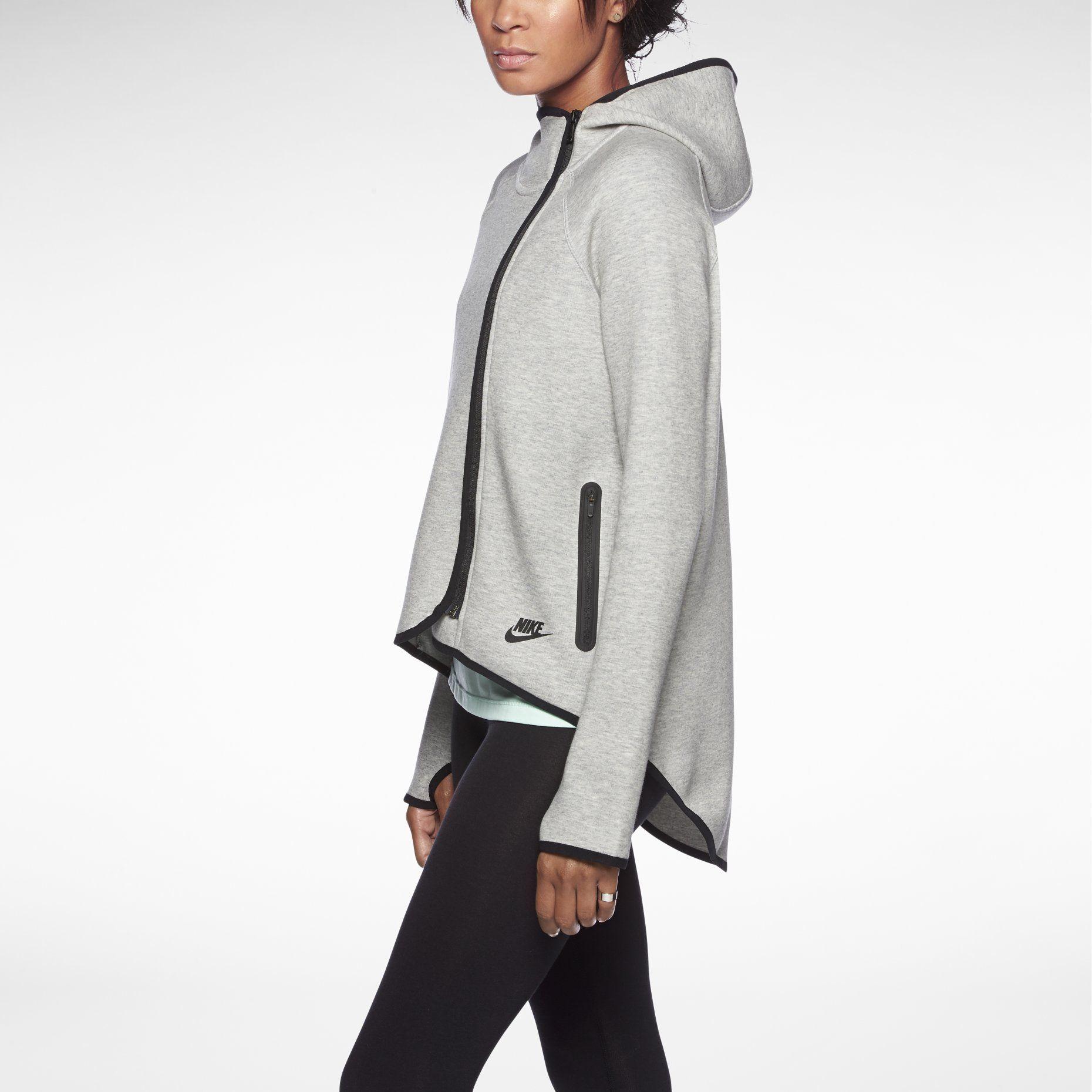 Nike Tech Fleece Cape Women's Hoodie >> so yummy. Fun