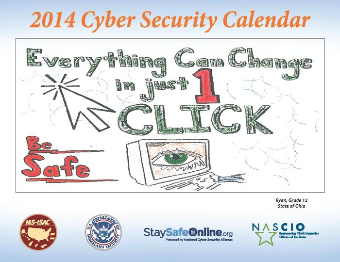2014 Kids Safe Online Poster Contest Ohio Art Ed
