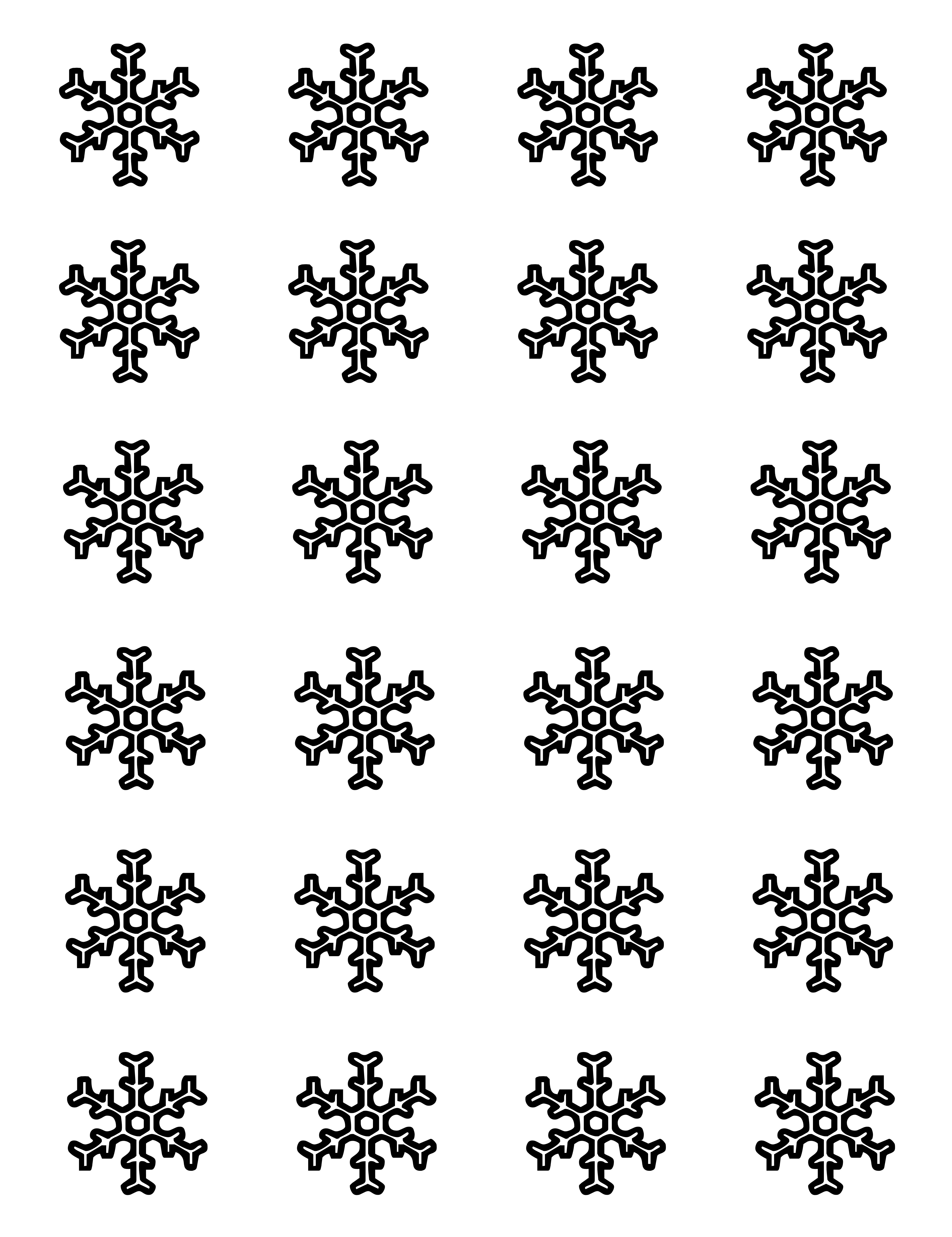 Free For You Owflake Templates For Royal Icing Snag