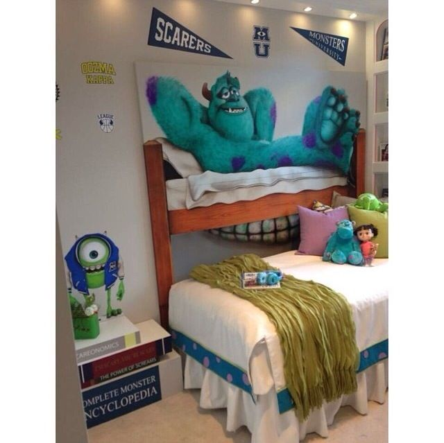Monsters Inc University Bedroom So Cute